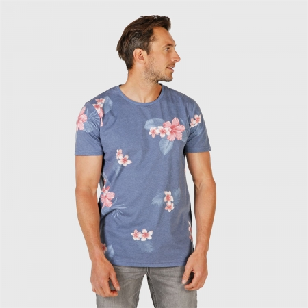 Pánské triko Jason-Flower Jeans Blue (0524)