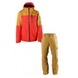 Pánský lyžařský komplet bunda Kanu a kalhoty Pert