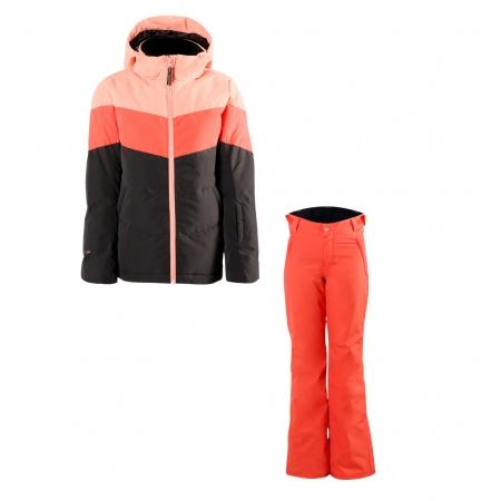 Dívčí lyžařský komplet bunda Okalani a kalhoty Sunleaf