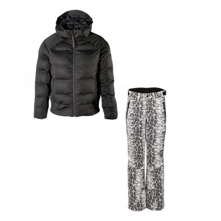 Dívčí lyžařský komplet bunda Firecrown a kalhoty Kagu