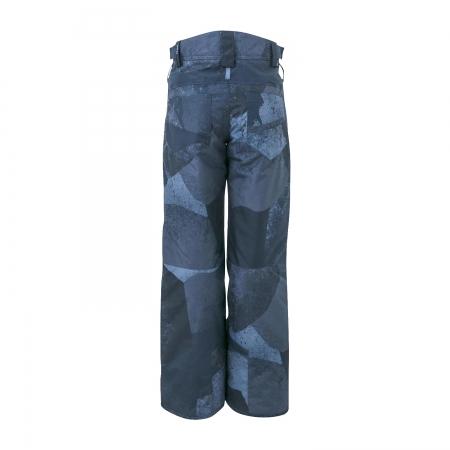 Chlapecký lyžařský komplet - bunda Idaho a kalhoty Kitebar Blue