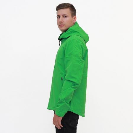 Pánská softshellová bunda Dollar Green (0728)