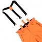 Chlapecký lyžařský komplet - bunda Mantello a kalhoty Footstrap Fluo Orange