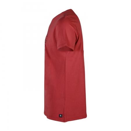 Pánské triko Tim-Print  Auburn Red (0256)