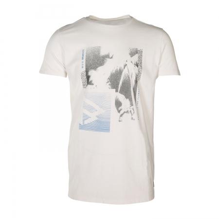 Pánské triko Tim-Print Blue Wave (0470)