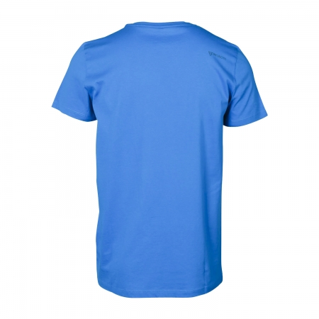 Pánské triko Tim-Print (Mid Blue-7546)