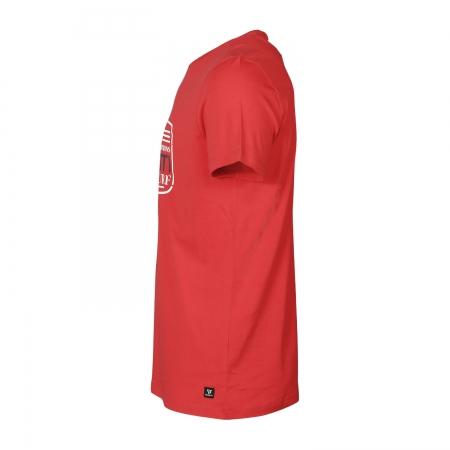 Pánské triko Tim-Print (Bright Red-2502)