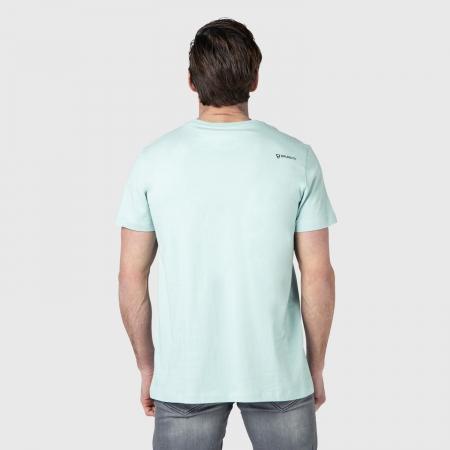 Pánské triko Tim-Print (Dusty Mint-5001)