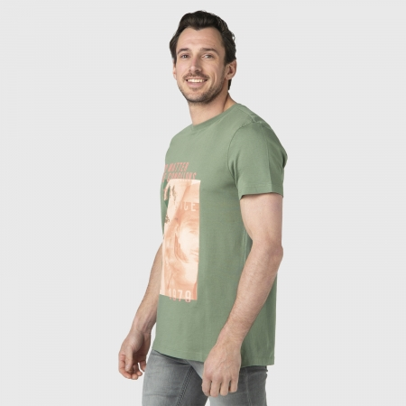 Pánské triko Tim-Print (Vintage Green-6500)