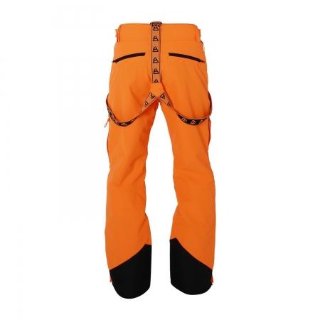 Pánské lyžařské kalhoty Damiro Fluo Orange (0138)