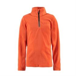 Chlapecká fleecová mikina Tennor, oranžová