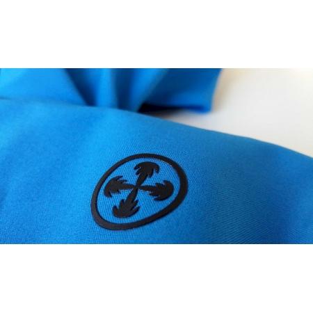 Dámská softshellová bunda Joskos Neon Blue (0454)