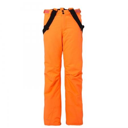Chlapecký lyžařský komplet - bunda Pander a kalhoty Footstrap Fluo Orange