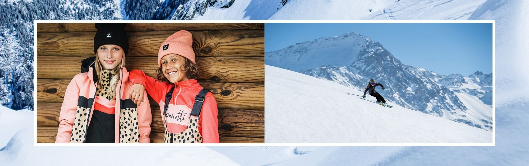 Dívčí lyžařské komplety