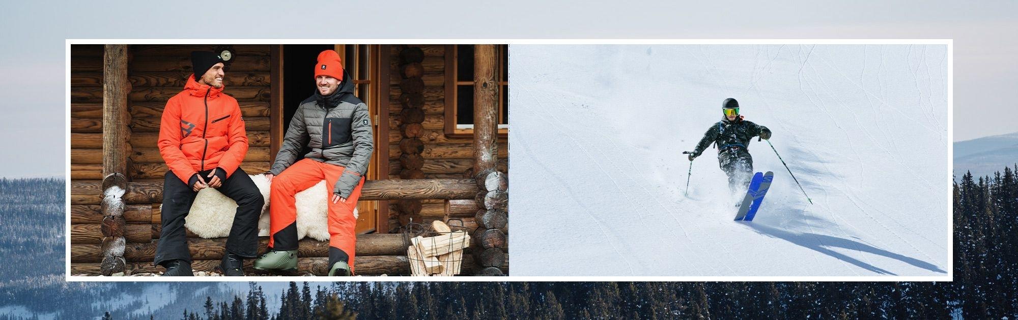 Pánské lyžařské komplety