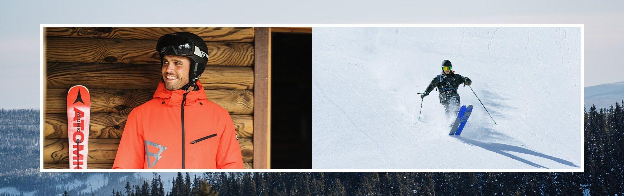 Pánské lyžařské brýle a helmy
