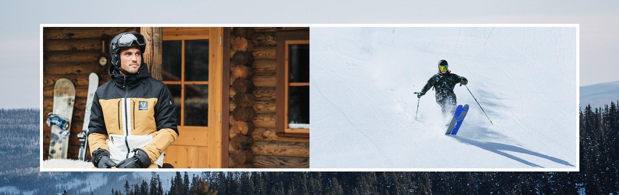 Pánské lyžařské bundy