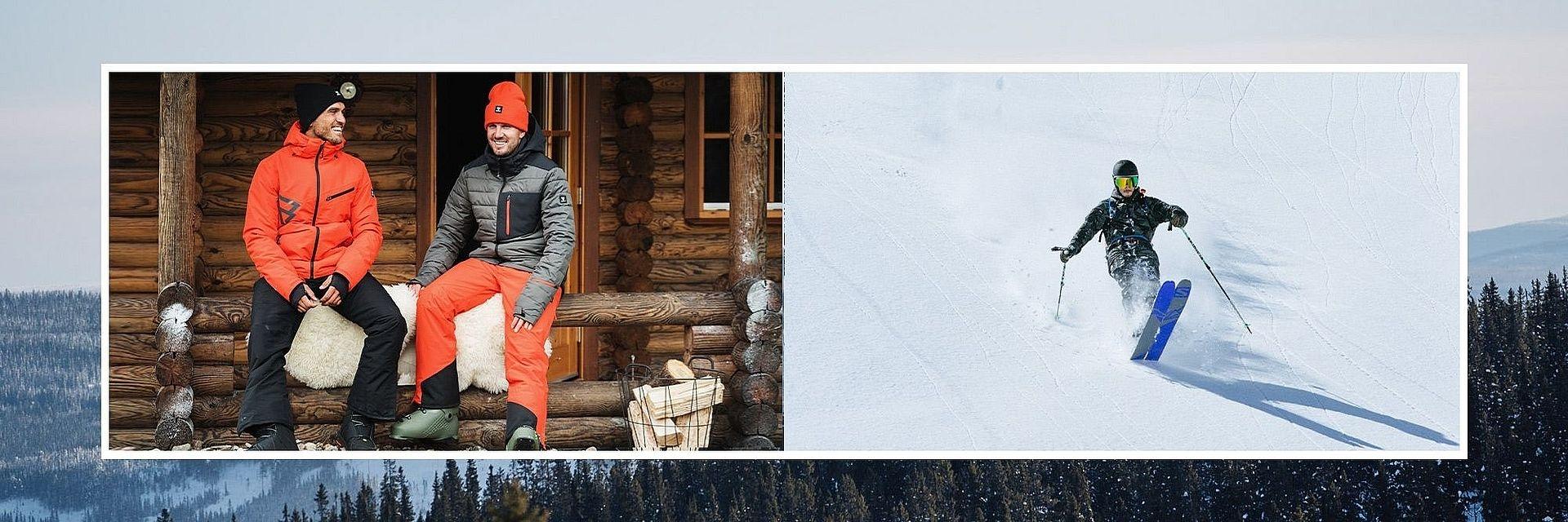 Pánské lyžařské oblečení