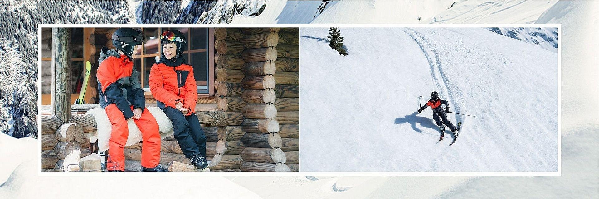 Chlapecké lyžařské oblečení