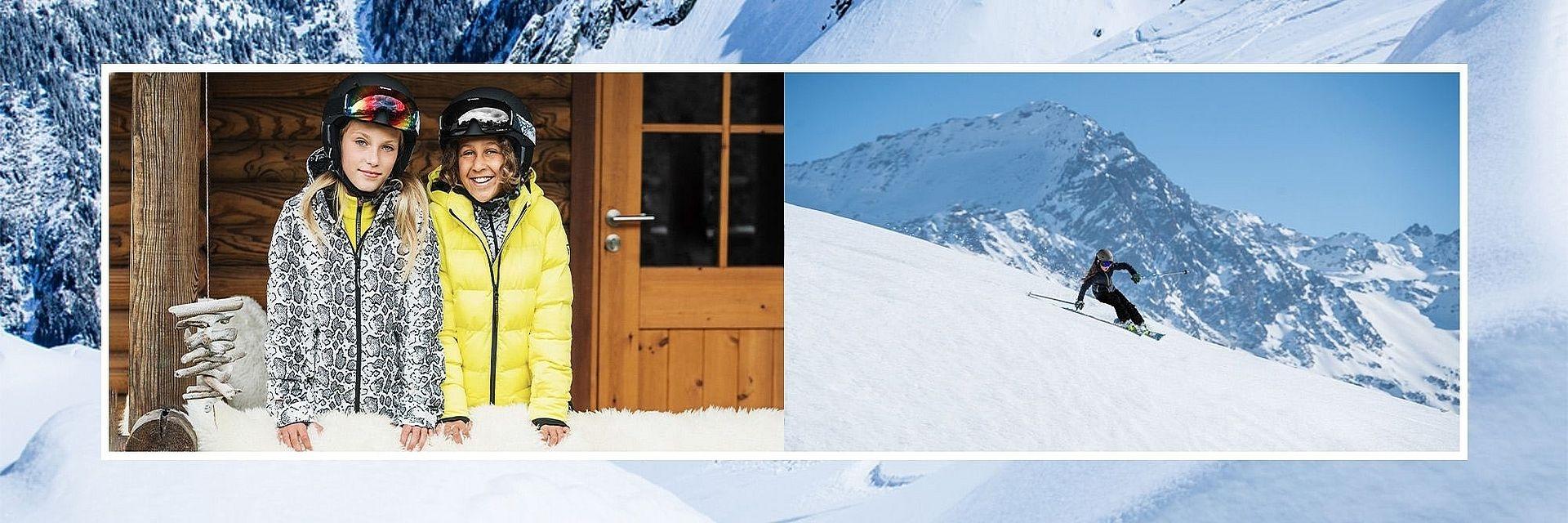 Dívčí lyžařské oblečení