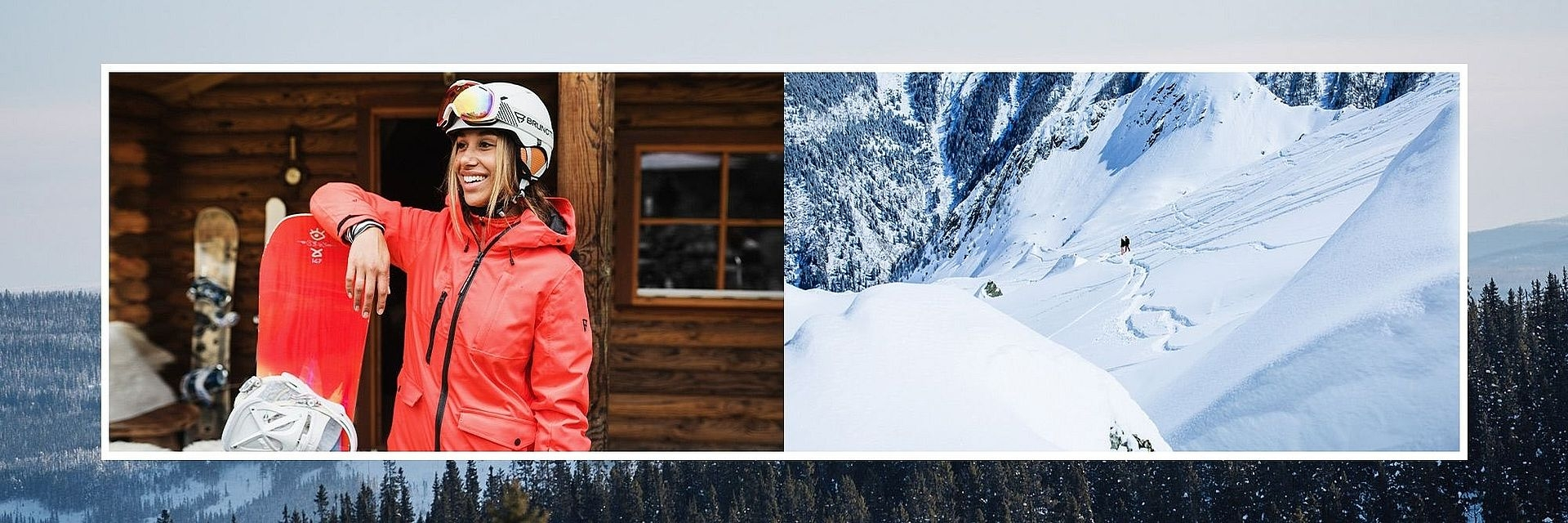 Dámské lyžařské oblečení